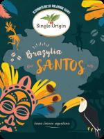 Brazylia Santos - miniatura kawy