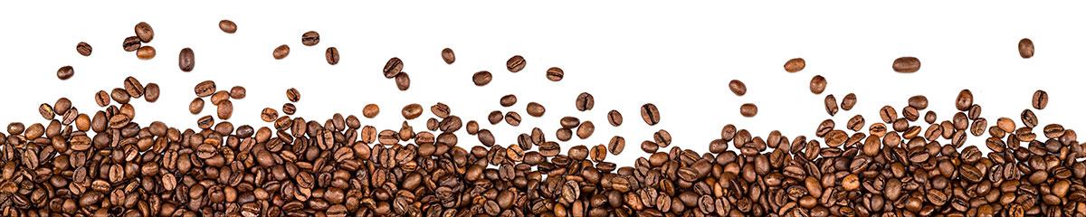 Tło z ziaren kawy