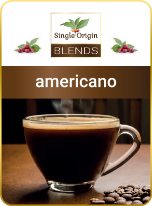 americano - kawa Single Origin Blends