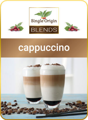 cappuccino - kawa Single Origin Blends