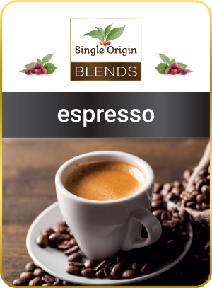 espresso - kawa Single Origin Blends