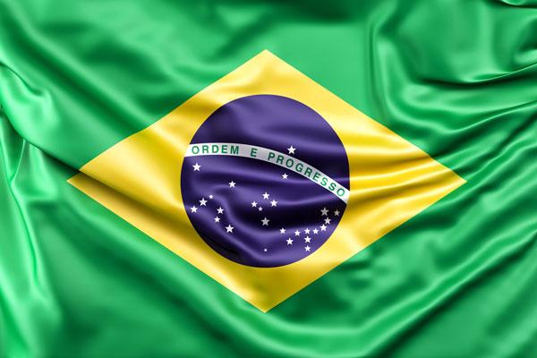 Kawa z Brazylii - Flaga