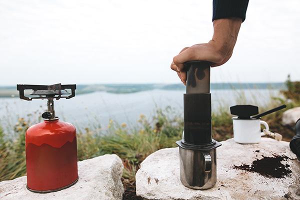 Parzenie espresso w Aeropressie